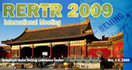 RERTR 2009 - 31st INTERNATIONAL MEETING ON REDUCED ENRICHMENT FOR RESEARCH AND TEST REACTORS, 1-5 November, 2009
